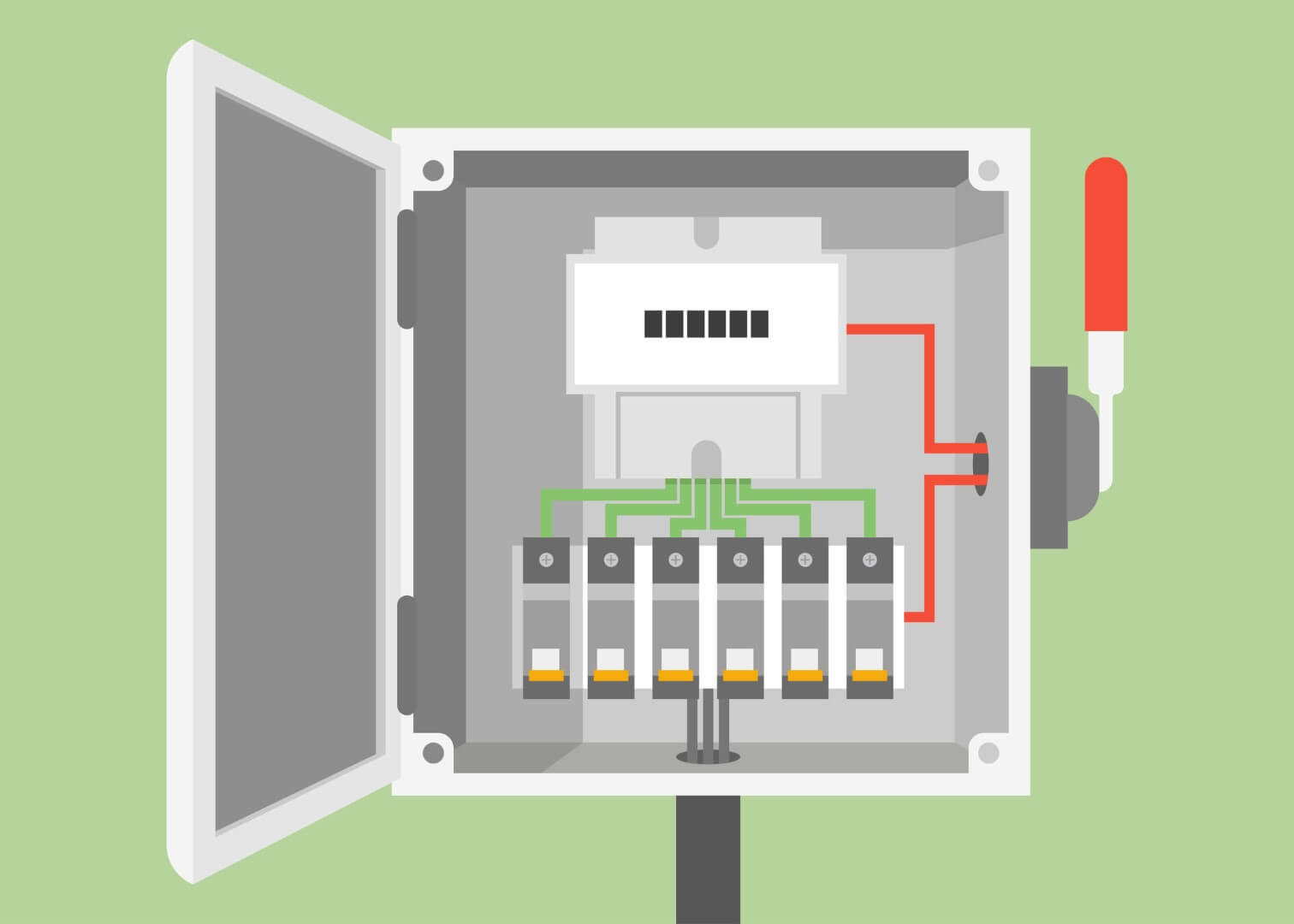 circuit breaker illustration